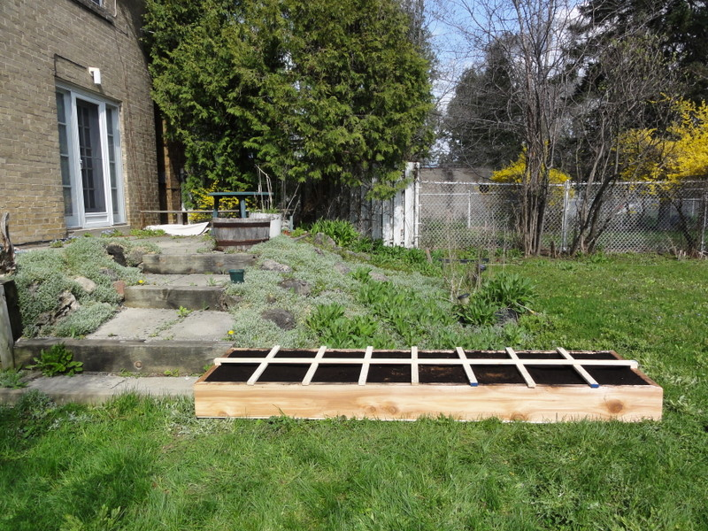 2x8 Raised Bed