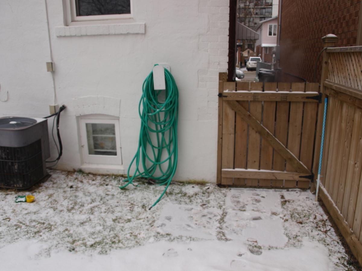 hose in winter