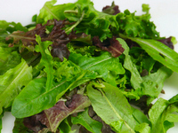 Mixed greens