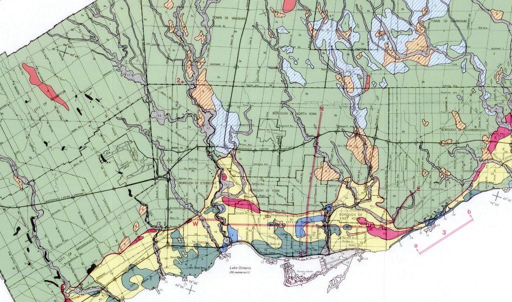 Toronto Soil Map