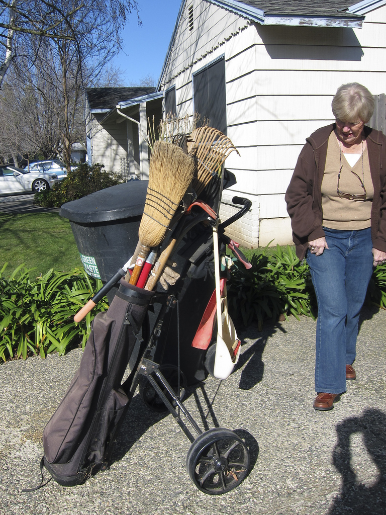 Golf Bag Gardening Tools